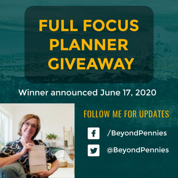 Full Focus Planner Giveaway