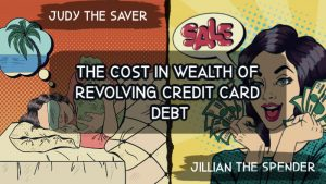 The Cost in Wealth of Revolving Credit Card Debt