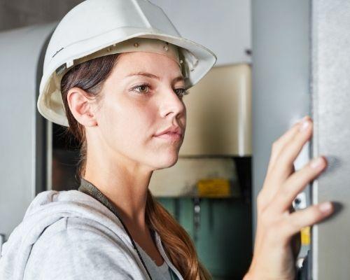Female Blue Collar Worker