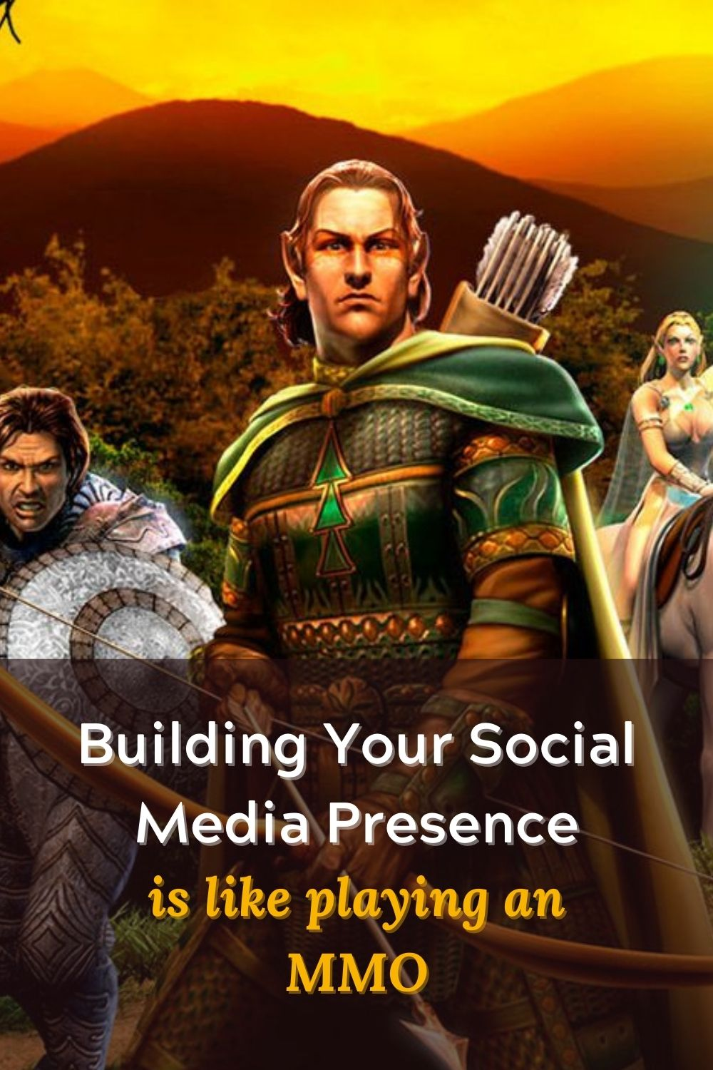 Building Your Social Media Presence is Like Playing an MMO