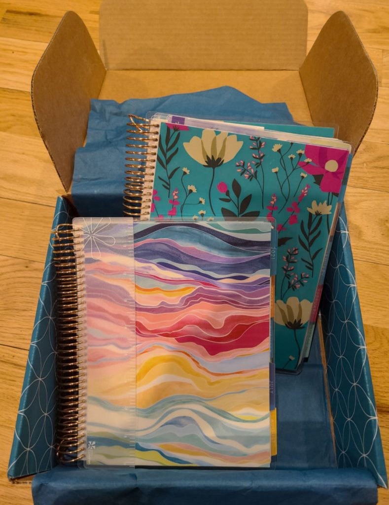 Erin Condren Daily Lifeplanner Duo Unboxing