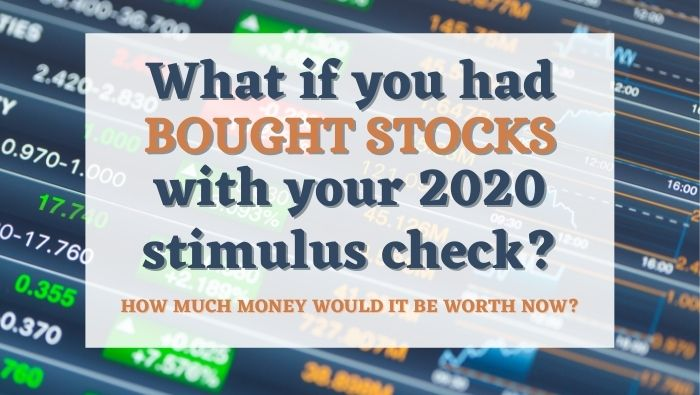 How Much Money Would Your Stimulus Check Be Worth Now