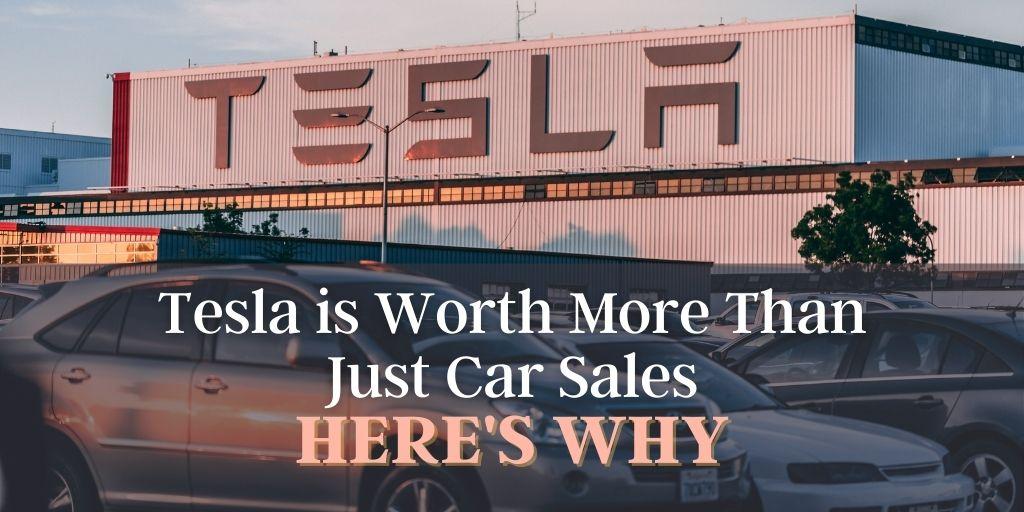 Tesla Worth More Than Car Sales